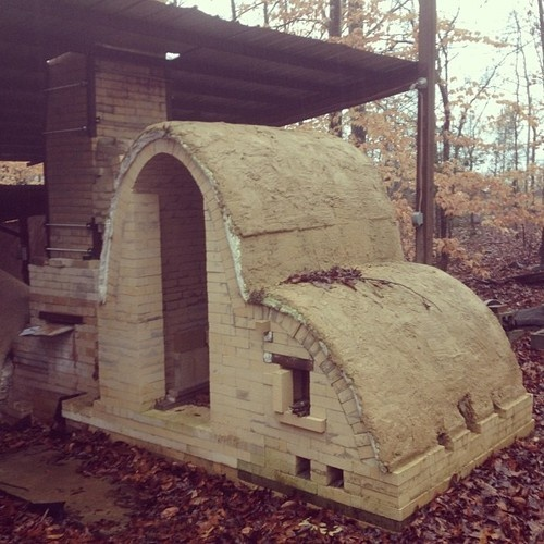 brentpafford:    Mission finish kiln is in progress despite the weather. Yay rain!