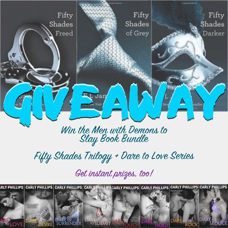 #Giveaway – #Win the Hot Men with Demons to Slay #Book Bundle
