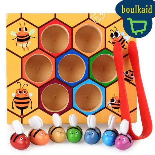 Hive Board Games Early Childhood Education Building Educational Wooden Toys #VKTECH