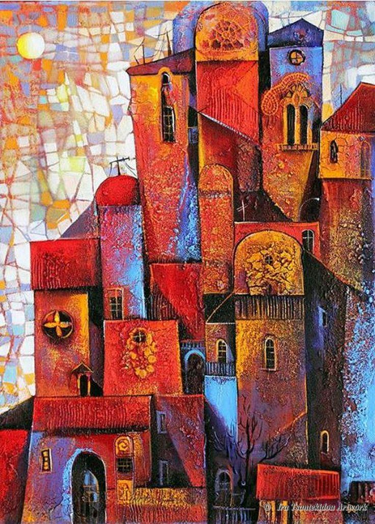 Ville Ensoleillée by Ira Tsantekidou. (Serie Cities).