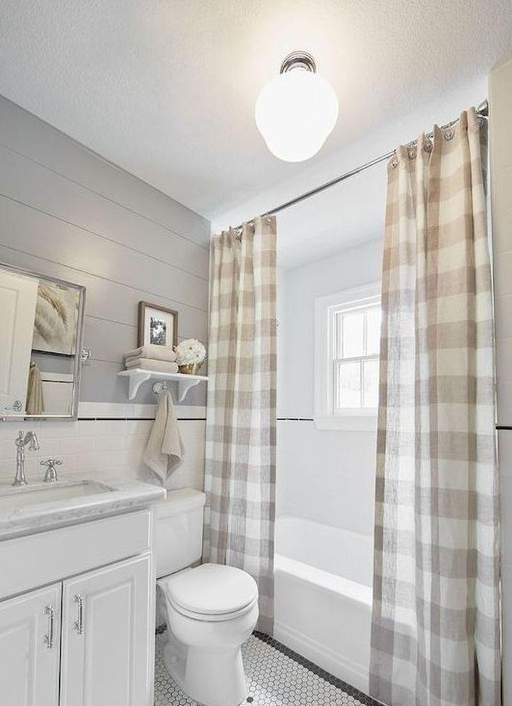 45 Farmhouse Rustic Bathroom Decor Ideas On A Budget Small Farmhouse Bathroom Rustic Bathroom Decor Farmhouse Shower