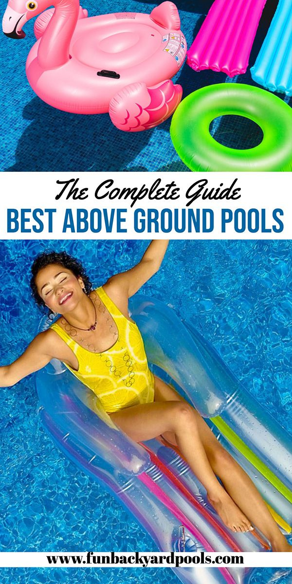 Best Above Ground Pool Ideas Above Ground Pool Backyard Backyard Pool Ideas And Tips Best Above Best Above Ground Pool In Ground Pools Above Ground Pool