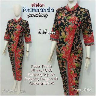 Baju Batik Kerja Wanita, Grosir Batik Solo, Baju Batik Pria: Model Baju Batik Modern, Grosir Batik Solo, Baju B...