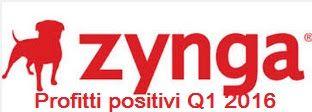 UNIVERSO NOKIA: Profitti Positivi per Zynga | Q1 2016