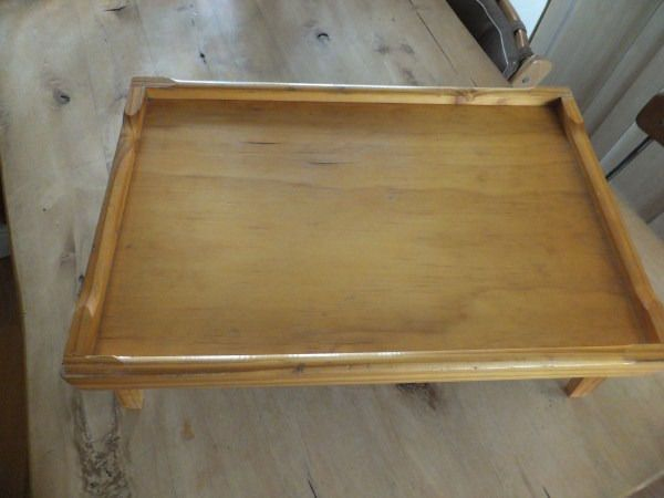 Pine Bed Tray / Lap tray for Breakfast in Bed!Ideal as a His