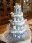 torta di pannolini sotto l'albero di melograno blog