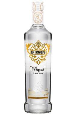 Un #cadeau original: la #vodka aromatisée à la crème fouettée #Smirnoff Whipped Cream. (24,80$) #Noël