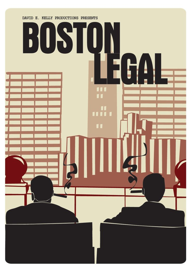 Boston legal... I just loved this show... B.