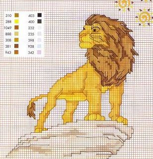 ENCANTOS EM PONTO CRUZ: O Rei Leão