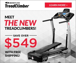 Save Over $529 with #FREEShipping On the NEW #Bowflex TreadClimbers on DrewryNewsNetwork.com
