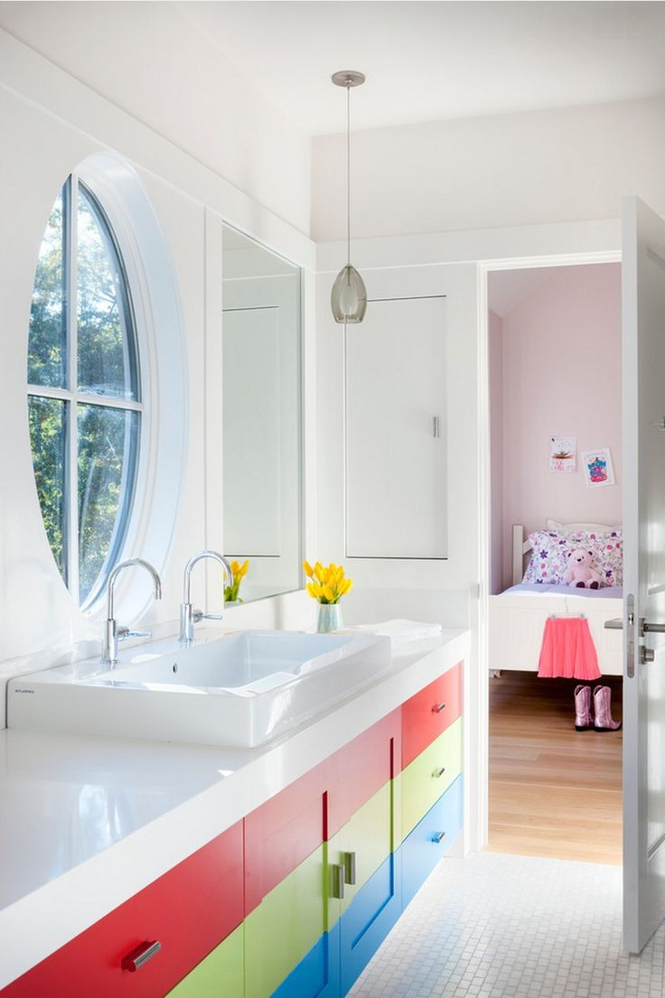 Cool bathroom ideas for kids - Courtyard Residence By Lda Architecture Kids Bathroom
