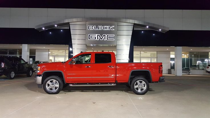 BLAINE's new 2016 GMC Sierra! Congratulations and best wishes from Hall Buick GMC and GERMAN FLORES.