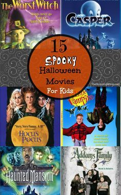 Halloween Movies For Kids | Halloween Movie Night | TheShoppingMama.com #halloween #halloweenforkids