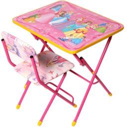 Купить Набор мебели детский: стол и стул Ника «Маленькая принцесса»