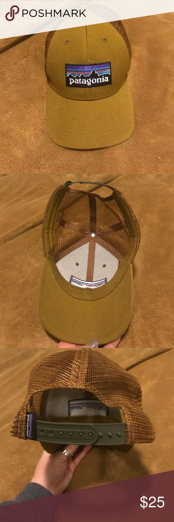 Patagonia mustard color snap back hat Mustard color Patagonia SnapBack hat! Never worn. Patagonia Accessories Hats