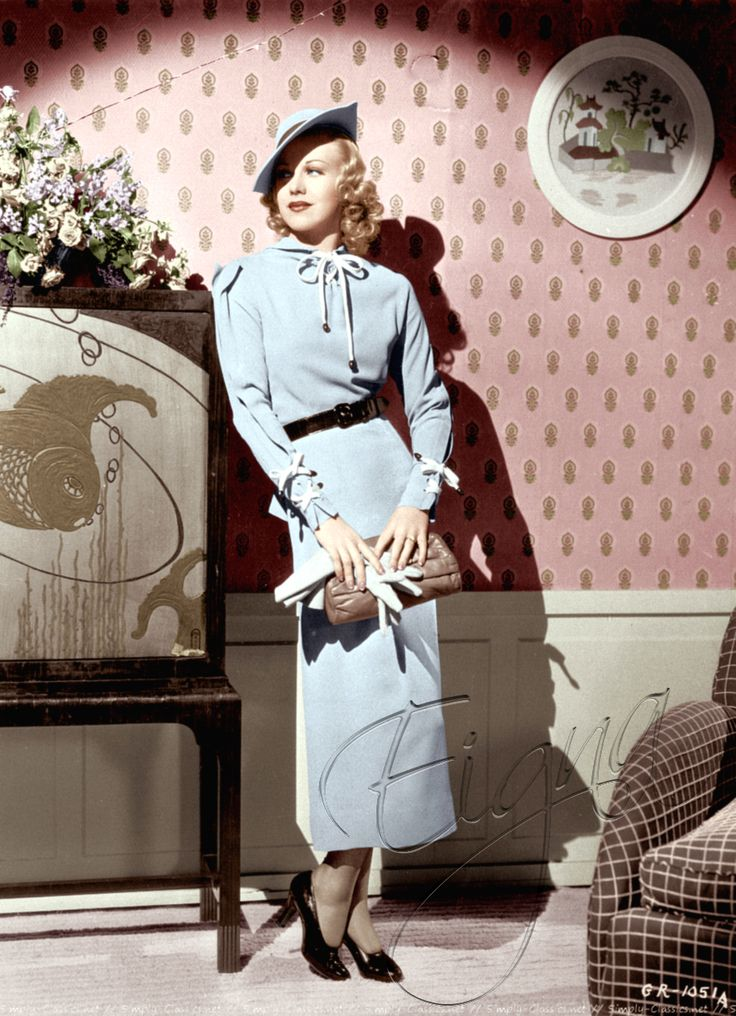 Stylish Ginger Rogers | Color Me Six Ways to Sunday ...