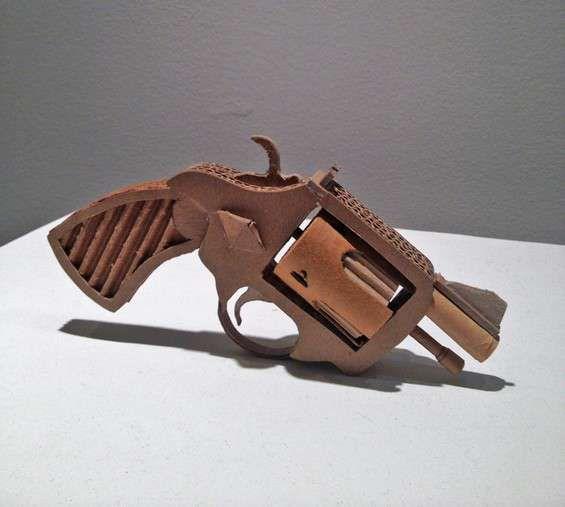 Asif Farooq's Cardboard Guns
