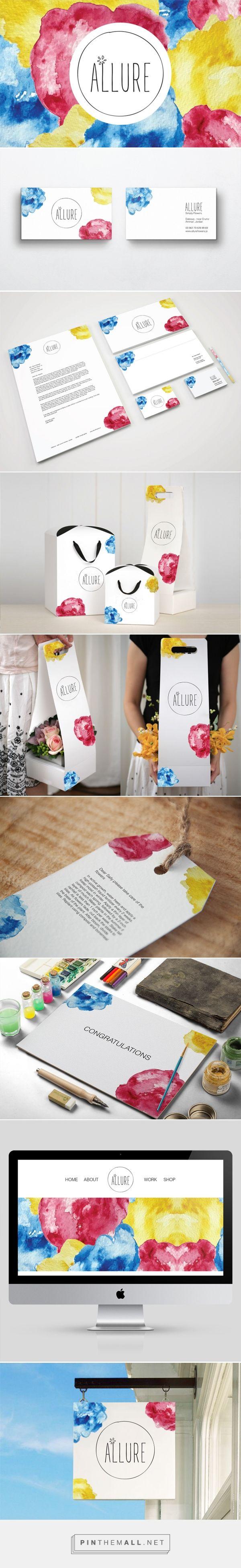 Allure Flower Shop Branding by Sally Rafidi | Fivestar Branding – Design and Branding Agency & Inspiration Gallery