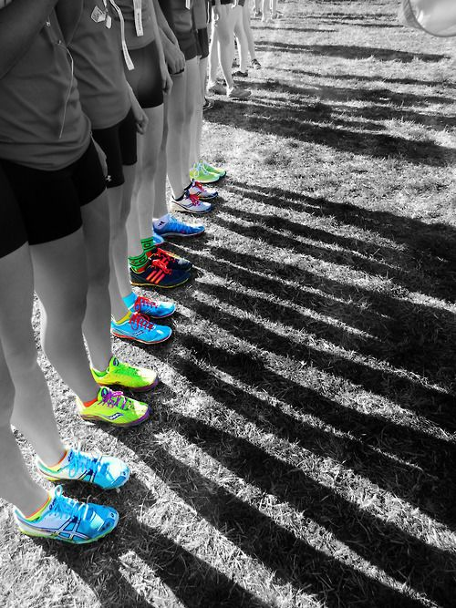 @Karla Pruitt Pruitt Pruitt Singer this would be a cool cross country picture at the starting line!
