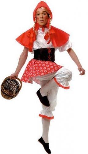 Disfraz de Caperucita Roja adulto. Little Red Riding Hood costume. Disfraces para despedidas de solteros.  http://www.leondisfraces.es/catalogo/Catalog/show/disfraz-de-caperucita-roja-adulto-1731