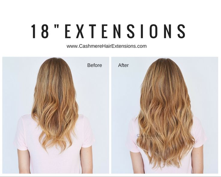 Remy Clip-In Hair Extensions Before & After Pictures   Cashmere Hair Extensions