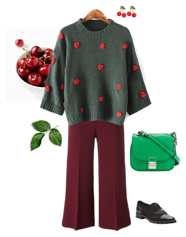"""""""Untitled #82"""" by i-teddybear on Polyvore featuring мода, Disney, Kate Marie и Proenza Schouler"""