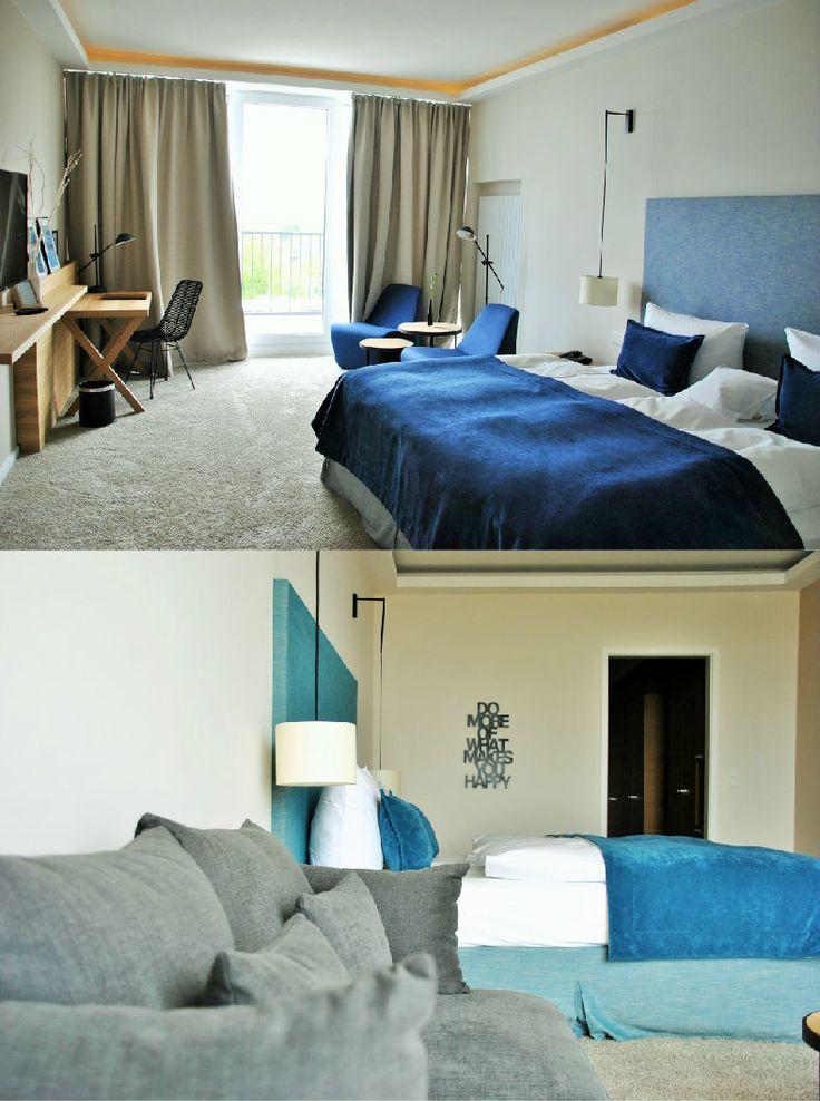 SeeHuus | Design Hotel | Germany | http://lifestylehotels.net/en/seehuus | room, design, blue, maritine, modern