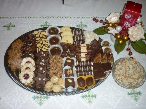 Vánoční cukroví :: Trávníčkova Jana - pečení