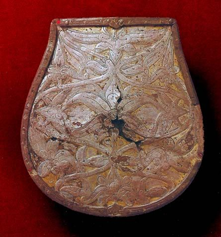 Sabretache plate from Tarcal, 10th century. Silver and copper. Hungarian National Museum, Budapest
