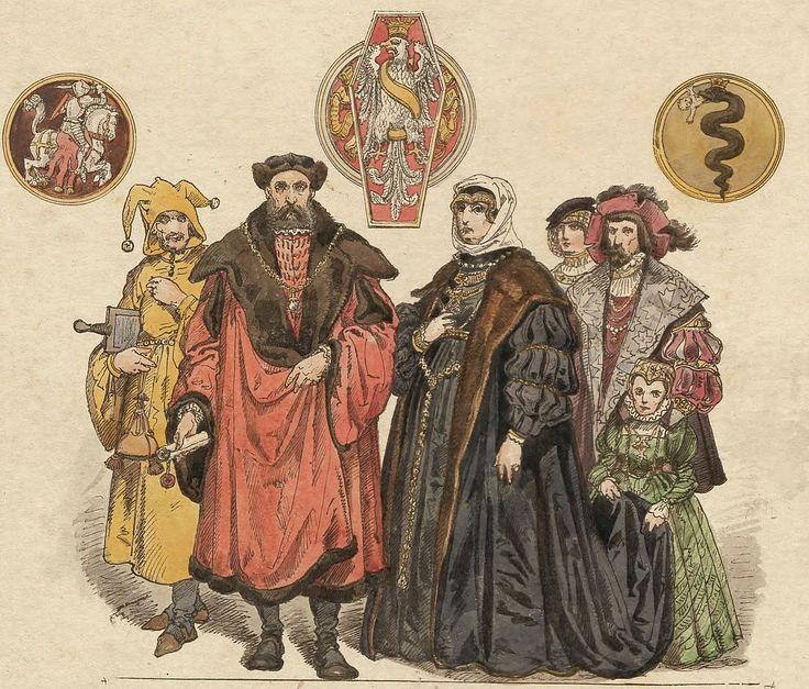 Zygmunt Stary i Bona Sforza z dworem, Jan Matejko