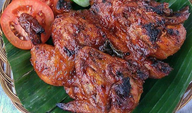 Resep Ayam Bakar Bacem Resep Ayam Resep Ayam