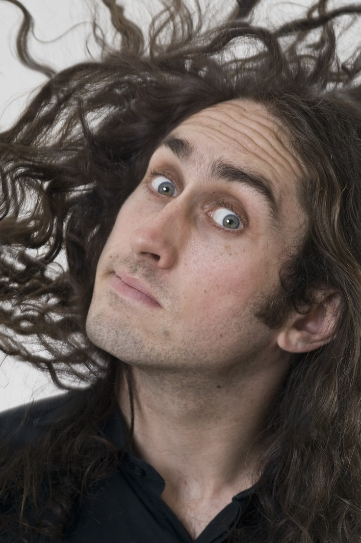 Ross Noble, you're an ugly bastard but you sure are funny. Also, no-one is more random.