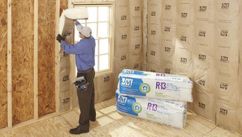 Install Insulation | Exterior wall insulation, Diy ...