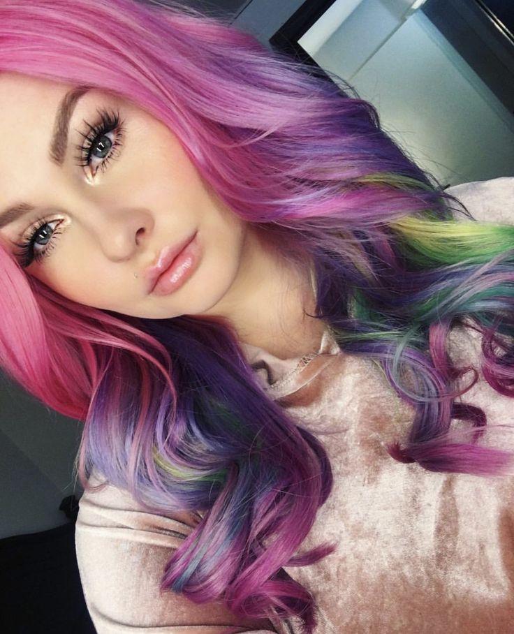 Best 25+ Wild hair colors ideas on Pinterest   Crazy hair ...