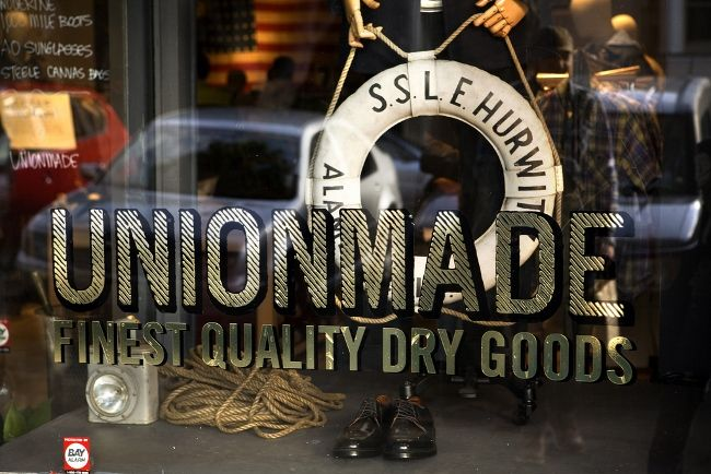 Unionmade in San Francisco #setmeflee #travel #sanfrancisco