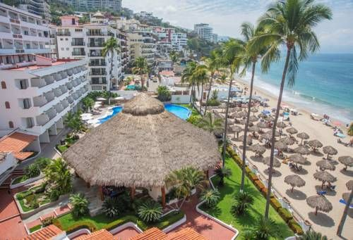 Tropicana Hotel Puerto Vallarta Puerto Vallarta This beachfront hotel overlooks Banderas Bay and is within a 10-minute drive of Puerto Vallarta. The hotel features an outdoor pool and currency exchange at the front desk.