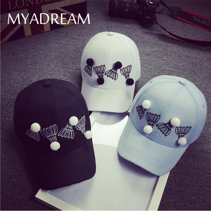 >> Click to Buy << MYADREAM 3D Badminton Decoration Snapback Baseball Cap Women Hats for Men Curved Brim Summer Sun Hat Caps Bone Masculino Gorras #Affiliate