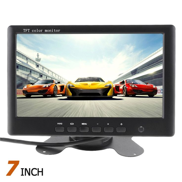 Best price US $47.23  7 Inch Car Monitor TFT LCD Display HD Color Car Rear View monitor 2 Channels Video Input Car Rear View Reverse Paking Monitor  #Inch #Monitor #Display #Color #Rear #View #monitor #Channels #Video #Input #Reverse #Paking  #Online
