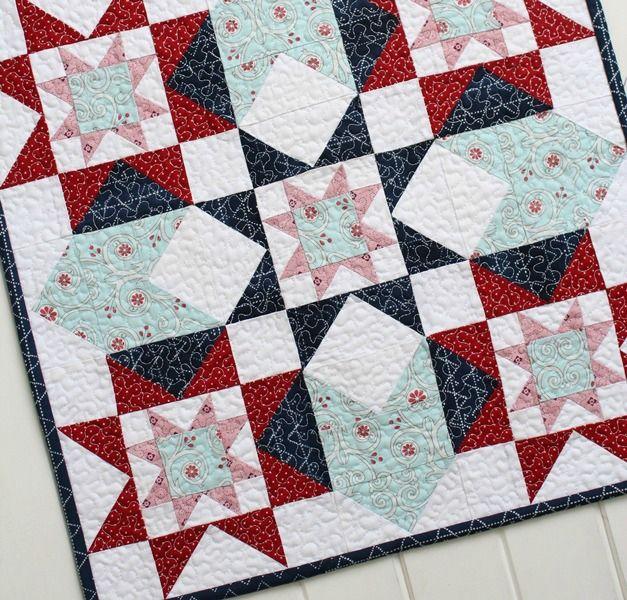 Threadbare Creations- Corona Mini Quilt PDF Pattern
