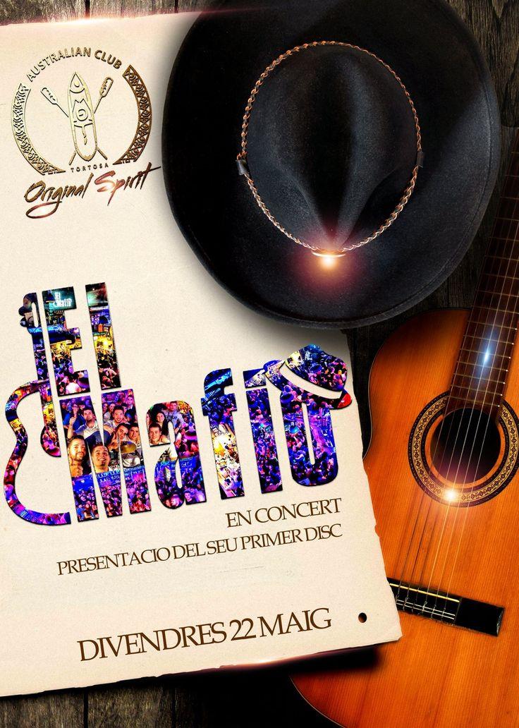 Començar la setmana en un bon al•licient no té preu... Anoteu!! Divendres nit, EL MAFIO en concert!! Si ja els coneixeu, sabeu el que ens espera... Si no heu tingut el plaer, no us ho podeu perdre!!! @el_mafio_@moetaustralianclubtortosa @originalspiritoficial@javiemoet#divendres #22#maig#2015#en#concert #presentacio#primer#disc#grabacio #estudi#primicia#exclusiva#estrena #noves#cansons#summer#tour#moet #tortosa#elmafio#monstruos#rumba #versions#en#viu#riu#ebre#australian