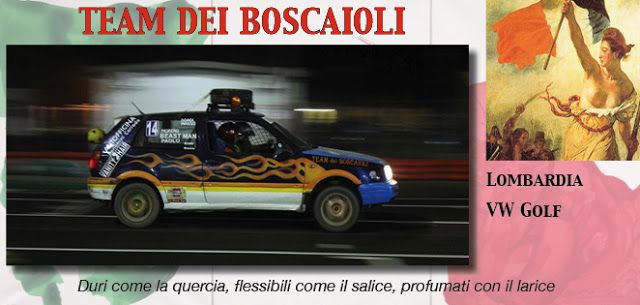 32_TEAM DEI BOSCAIOLI http://rallydeglieroi2016.blogspot.it/p/catalogo-degli-eroi.html #rallydeglieroi #sonouneroe #Garibaldi @RobertoCattone