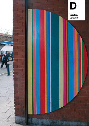 London Letters no 14 D Brixton by LondonLetters on Etsy, £0.75London Letters, London Nurseries, London Alphabet