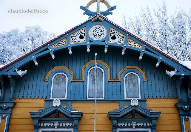 Finland - Vanha Rauma - a house | Flickr: Intercambio de fotos