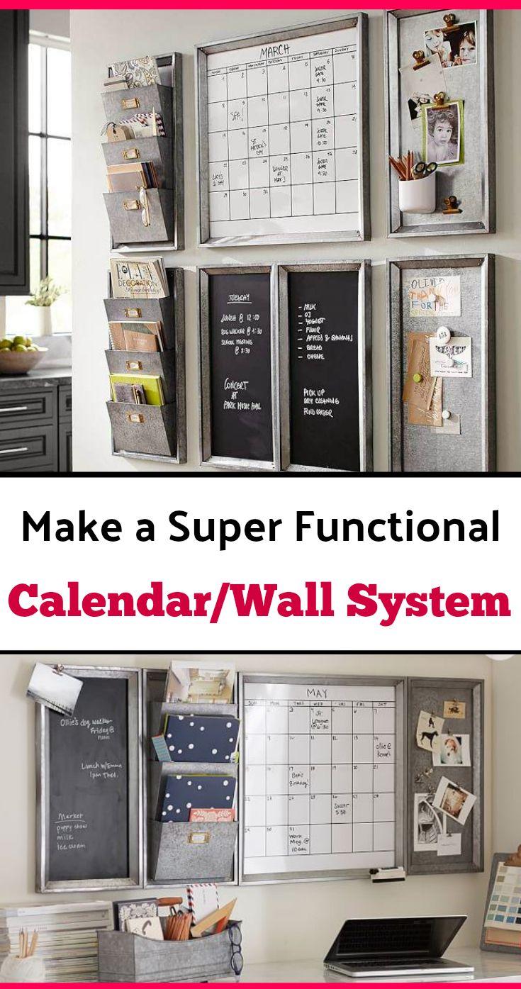 Best Calendar For Organization : Best family calendar wall ideas on pinterest kitchen