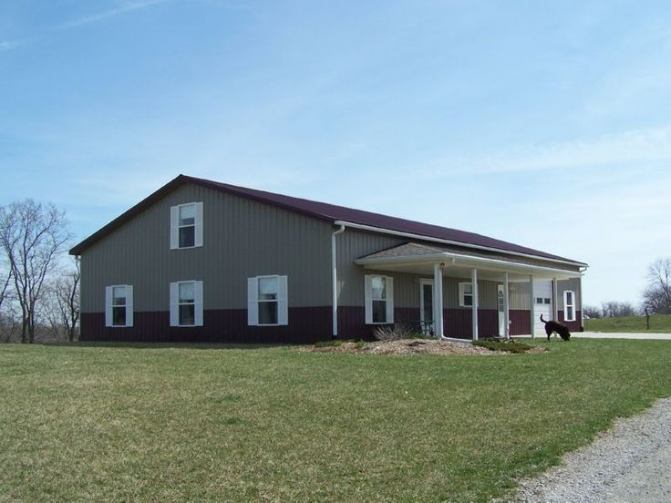 Two story metal building with living quarters plans joy for 2 story barn house