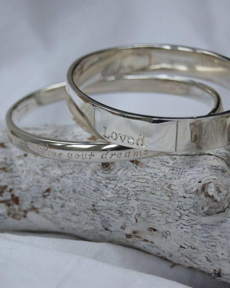 Prachtige zilveren slavenarmbanden van Sterling zilver 925. Nu met mogelijkheid voor handgravure!