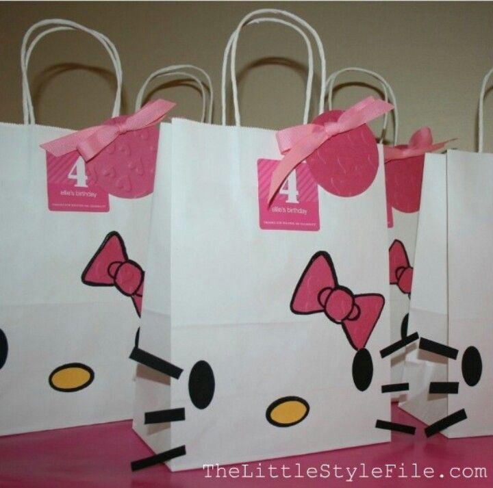 Bolsa de regalo de hello kitty