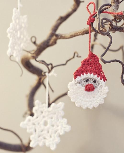 Pattern to make this sweet Santa