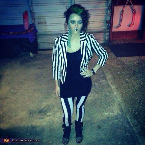 Diy halloween costume beetlejuice my halloween other beetlejuice my halloween other makeup fun pinterest beetlejuice diy halloween and halloween costumes solutioingenieria Image collections