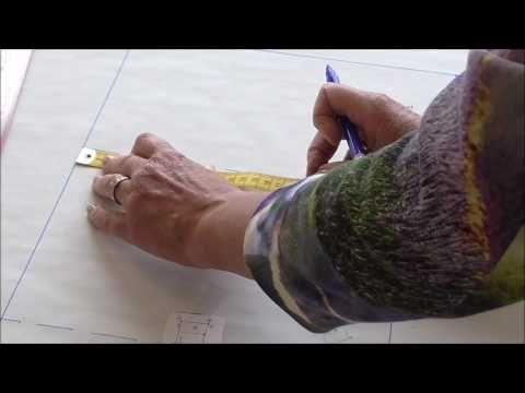 Leer heel simpel zelf een patroon tekenen stap bij stap word dit begeleid.